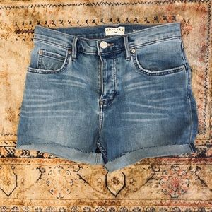 LEE High Rise Relaxed Skinny Denim Shorts